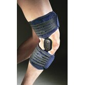 Adjustable Hinges Knee Brace in Blue