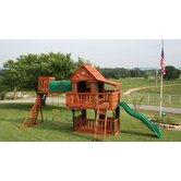 Woodridge Cedar Swing Set