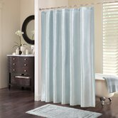 Tradewinds Polyester Shower Curtain in Blue
