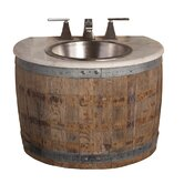 Vintner's Bordeaux Wall Mount Vanity