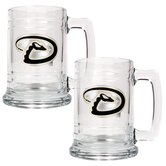 MLB 15oz. Glass Tankard (Set of 2)