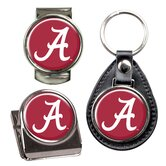 NCAA 3 Piece Key Chain, Money Clip and Magnet Clip Set