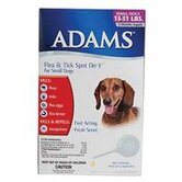 Adams Flea and Tick Spot On For Dogs