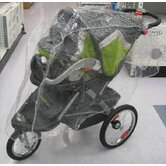 Single Stroller / Jogger Travel System Rain Cover