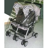 Combi Twin Side by Side Stroller Weather Cover