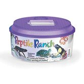 Round Reptile Ranch with Lid