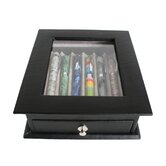 6 Pen Display Case in Black