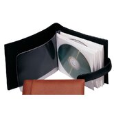 Royce Leather Portable CD/DVD Storage