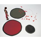 Aros Redonda Red Rug