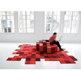 Do-Lo-Rez Red Rug