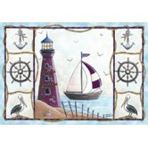 Home Accents Lighthouse Novelty Rug