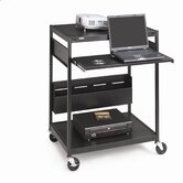32&quot; Wide Mobile Projector Cart
