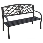 Daffodil Metal Garden Bench