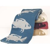 Eco Fish Throw Blanket