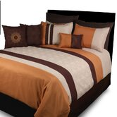 Fallbrook Spice (Elston) 7 Piece Comforter Set