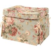 Chesapeake Fabric Pillow Top Ottoman