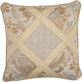 St. Lucia Pillow with Wide Braid and Cord