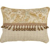 St. Lucia Pillow with Cord and Ball Trim