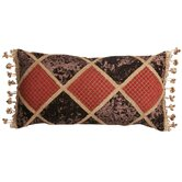 Bacara Pillow with Braid and Tassel Trim