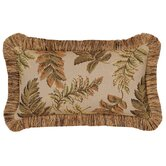 Woodland Pillow with Brush Fringe, Reversible