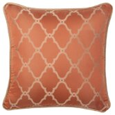Alamosa Orange Pillow with Self Cord