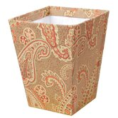 Alamosa Wastepaper Basket with Vinyl Liner