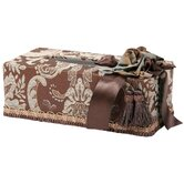 Vellore Romance Rectangular Tissue Box with Bouquet Trim