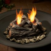 2-Can Outdoor Log Set