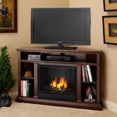 "Churchill 51"" Ventless TV Stand with Gel Fuel Fireplace"