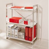 Adele Three Shelf Bookcase