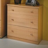 Warwick 3 Drawer Deep Chest