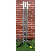Hockey Stick Free Standing Coat Rack