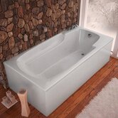 "Anguilla 32 x 60 x 23"" Rectangular Soaking Bathtub"