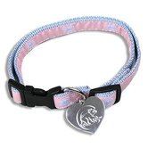 MLB Chicago Cubs Dog Collar in Pink