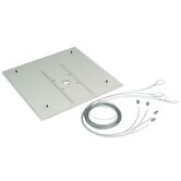 False Ceiling Adapter (2' x 2' Tile Replacement)