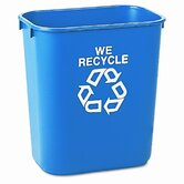Small Deskside Recycling Container