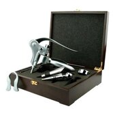 Quest Deluxe Corkscrew in Wood Gift Box