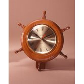 Ship Wheel Wall/Desk Clock