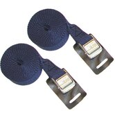 9' Canoe and Kayak Cam Buckle Load Straps in Blue (Set of 2)