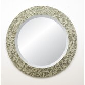 Moulin Rouge Cabriolet Round Wall Mirror