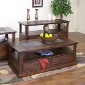 Santa Fe Coffee Table with Casters