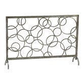 Circle Iron Fireplace Screen