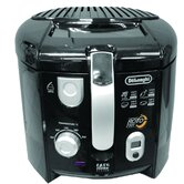 2.2 Lbs Cool Touch Roto Deep Fryer in Black