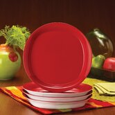 "Round and Square 9.3"" Salad Plate (Set of 4)"