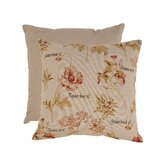 French Floral Floor Pillow
