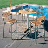 Equinox 4-Seat Outdoor High Dining Set