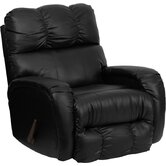 Contemporary Bentley Leather Chaise Recliner
