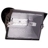 500 Watt Halogen Floodlight in Bronze