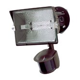 180° Motion Sensor Halogen Light in Bronze