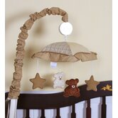 Music Mobile for Teddy Bear Crib Bedding Set